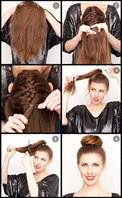 Upside down french braid bun tutorial sweaters in the stove needed ccuart Images